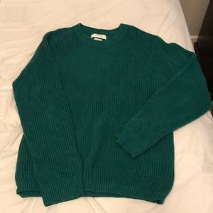 Men's green urban outfitter sweater